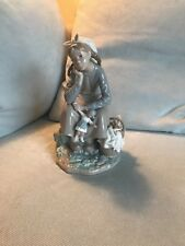 lladro figurines retired girl with doll # 1211