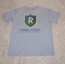 RWPA SEATTLE SEAHAWKS NIKE RUSSELL WILSON PASSING ACADEMY CAMP SHIRT YOUTH L