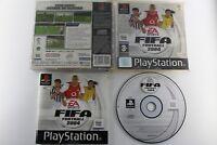 PLAY STATION PS1 PSX FIFA FOOTBALL 2004 COMPLETO PAL ESPAÑA