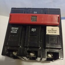 Bryant Br3100na 3 Pole 100 Amp 240vac Non Automatic Molded Case Switch Nos