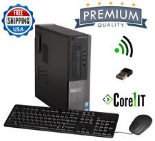Dell Windows 10 Core i7 quad Desktop PC Computer 16Gb RAM 2Tb HDD HDMI WIFI