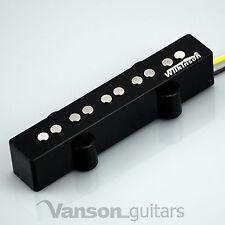 Wilkinson wjb5b Alnico V, 5 String Bass Pickup Para Jb Guitarra, Jazz, wjb Puente