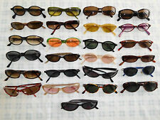 Lot 25 Sunglasses Glasses Eyeglasses Frame Oval Cat Eye CK Guess Hilfiger ++