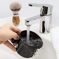 Large Premium Blends Black Porcelain Shave Mug