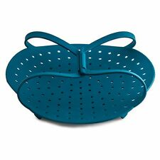 Vegetable Steamer - Best Silicone Steamer for Healthy Cooking! Fruits, Veggies,