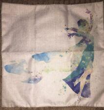 New Elsa Frozen Linen Square Pillowcase
