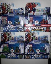 WALGREENS Complete minimate Kang/Leader/MS Marvel/Carnage Hulk/Banner Proxima