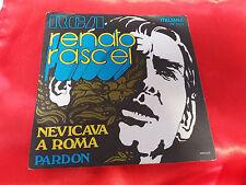 DISCO 45 giri  -   Renato Rascel – Nevicava A Roma  - 1970