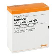 HEEL Cerebrum Compositum NM 10 Amps DE Homeopathic Remedies