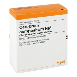 HEEL Cerebrum Compositum NM 10 Amps DE Homeopathic Remedies