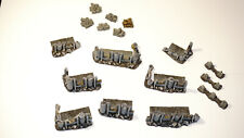 Pro Painted City Ruin Terrain Set for Warhammer 40k or Other War Games