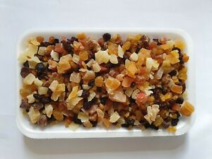Mixed Diced Dried Fruit Healthy Free UK P&P Grade 1 500g 1KG