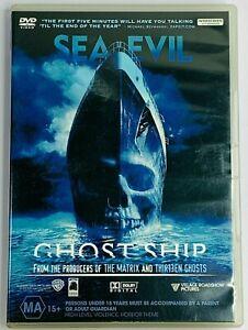 Ghost Ship (DVD 2002) Julianna Marguli PAL Region 4 Free Postage