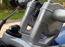 BMW R1200GS 2008-Elevador De Manillar 2013 refrigerado por aire Kit se mueve Bar hasta 30mm