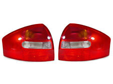 DEPO 1998-2004 Audi A6/S6 Red/Clear Replacement Tail Light Set Left + Right NEW
