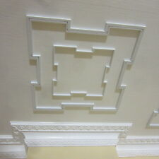 Dolls House 12th scale  Ceiling Panel unpainted  Larger one in photo  SQ cp06L