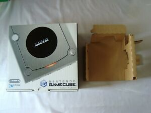 Nintendo GameCube Silver EMPTY CONSOLE BOX ONLY GCN Japan