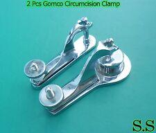2 PCS Gomco Circumcision Clamp 1.5cm & 3.4cm Surgical Instruments