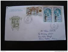TAAF carta 1/1/91 - sello - yvert y tellier n°155 et 156 (cy5)