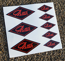 PETTER stationary engine logo stickers set
