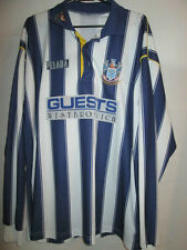 "West Bromwich Brom Albion 1994-1995 Home Football no 9 Shirt Size 42-44"" /21824"