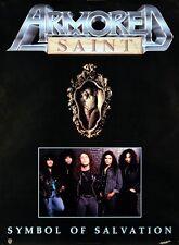 Armored Saint 1991 Symbol Of Salvation Original Promo Poster
