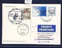 49117) AUA SF Peace Frieden Wien - Sarajevo 26.10.2005, stat.card Korea