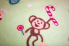 MONKEYS & Candy Girls Footed Sleeper Pajamas 4 5 XS NEW