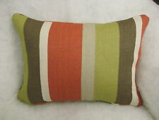 "HUGE MULTI BUY SAVINGS ON ROMO FABRIC DELANEY(SOFT RED)OBLONG CUSHION 18""X12"""