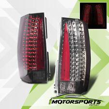 Fit 2007-2014 Chevy Suburban/Tahoe/GMC Yukon/XL/Denali Smoke LED Tail Lights Set