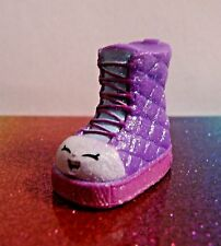 Shopkins QUILTY BOOT Purple Glitter Glamour Squad Exclusive Mint OOP