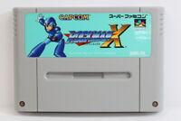 Rockman X Mega Man SFC Nintendo Super Famicom SNES Japan Import US Seller I5058