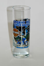 Stormy Hill Harley-Davidson Full Color  2.5 oz Tall Shot Glass- SHOT2