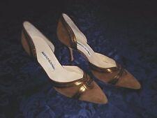 MANOLO BLAHNIK Pumps Women's Shoes SIZE 39