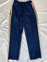 "US Dress ASU Blue Women's Trouser DLA Poly/Wool NCO Stripe 30"" x 31""  #10"