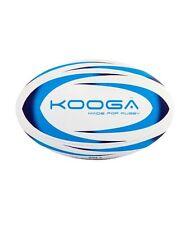 KOOGA DURBAN RUGBY TRAINING BALL WHITE/BLUE SIZE  5