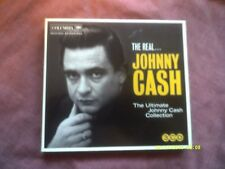 THE REAL JOHNNY CASH 3CD SET feat 6 ALBUMS-SONGS OF OUR SOUL,RIDE THIS TRAIN etc