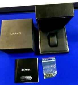 Original Empty box J12 Chanel Paris watch with a extra 4 ceramic original link
