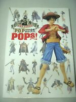 One Piece Portrait of Pirates Pops Official Guide Book Art Figure Japan Anime