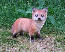 Gartenfigur Gartendekoration Fuchs Fox stehend Wald Förster Wild Figur  8959