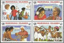 Marshall-Islands 54-57 block of four unmounted mint / never hinged 1985 Year the