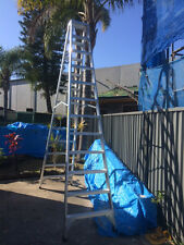 Climbmax Aluminium doubleside 12 steps 3.6M ladder,150Kg industrial rating load.