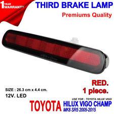 FOR TOYOTA HILUX VIGO MK6 SR5 05-15 KUN RED LENS LED BRAKE TAIL GATE LAMP LIGHT