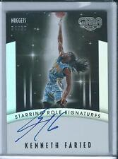 2015-16 Panini Gala Starring Role Signatures Kenneth Faried /50