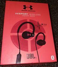 *NEW* - Under Armour JBL Sport Heart Rate Wireless In-Ear Headphones - Black
