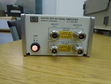 Keysight Agilent HP Hewlett Packard 8447D opt 011  (Works!)