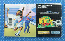 Super Kick Off | Instruction Booklet | Spieleanleitung | Sega Mega Drive |