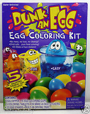 EASTER UNLIMITED™ DUNK AN EGG™ WITH FACE STICKERS EGG DECORATING KIT COLORING