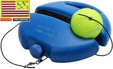 Tennis Trainer Practice Aids Self Study Rebound Ball Training Tool - US STOCK