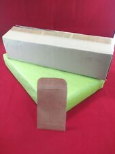 Coin and Small Parts Envelope 28 lb. Brown Kraft, 2-1/4 x 3-1/2,1 500 ENVELOPES
